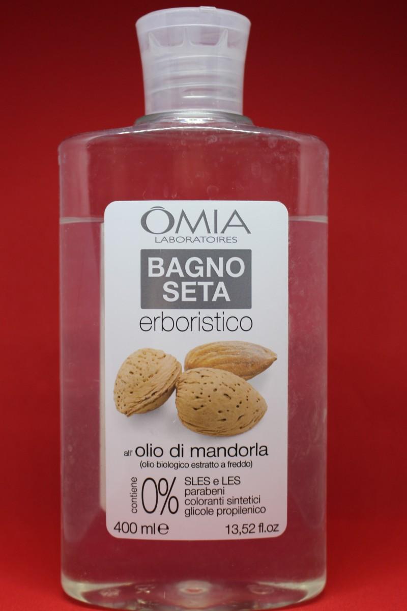 Bagno seta con olio di mandorla omia laboratories iris blonde - Omia bagno seta olio di jojoba inci ...